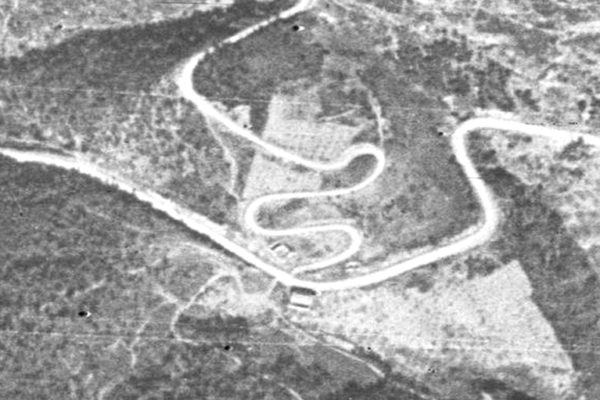 La carretera d'Arbolí-Coll d'Alforja